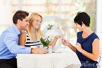 Woman engagement