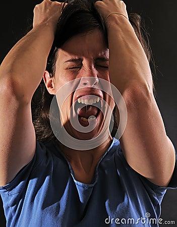 Free Woman Enraged Royalty Free Stock Image - 4760876
