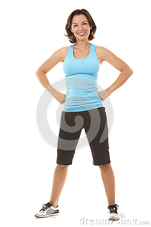 Free Woman Exercising Royalty Free Stock Photography - 33564407