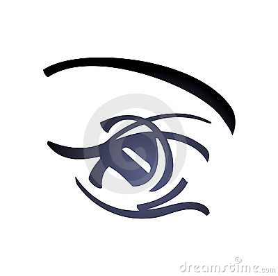 Woman Eye - vector art