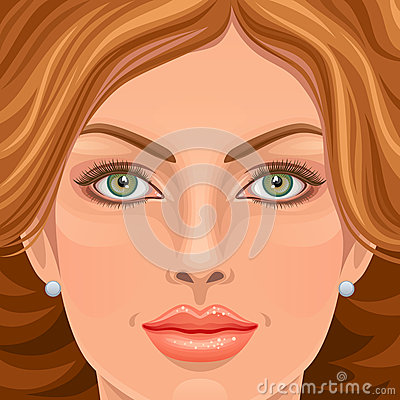 Woman face