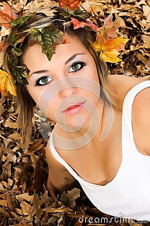 Woman Fall Beauty