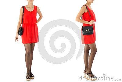 Woman fashion concept