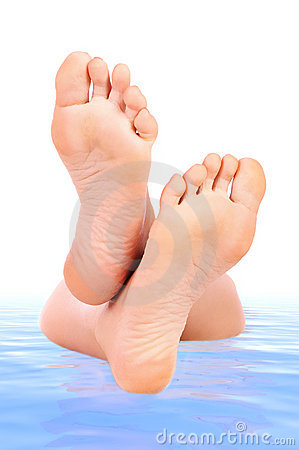 Free Woman Feet Stock Images - 3524014