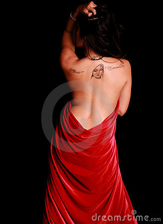 Free Woman From Behind Royalty Free Stock Images - 5392319