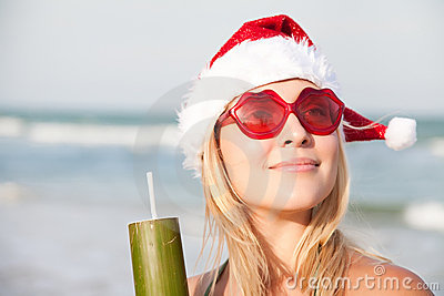 Woman On The Funny Sunglasses