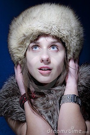 Woman in Furs
