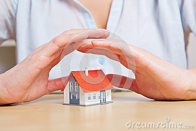 Woman giving small home safety