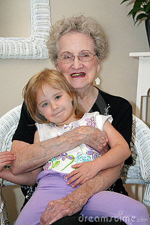 Woman and Great-Grandchild
