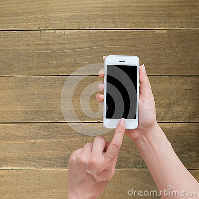 Free Woman Hand Holding And Using Mobile,cell Phone Royalty Free Stock Photos - 77337938