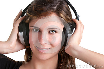 Woman with Headphones