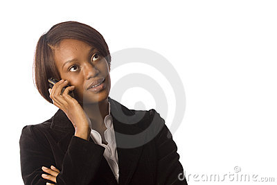 Woman on her cellphone