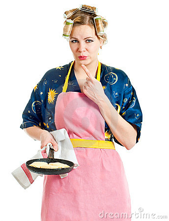 The woman the housewife