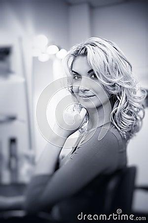 Free Woman In Beauty Salon Royalty Free Stock Photo - 8551335