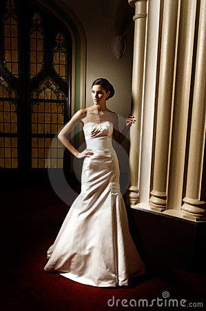 Free Woman In Bridal Dress Stock Photo - 4369750