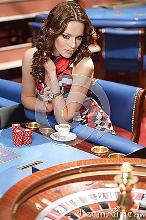 Free Woman In Casino Stock Photo - 19853130