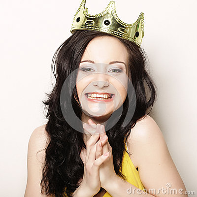 Free Woman In Crown Royalty Free Stock Image - 71831256