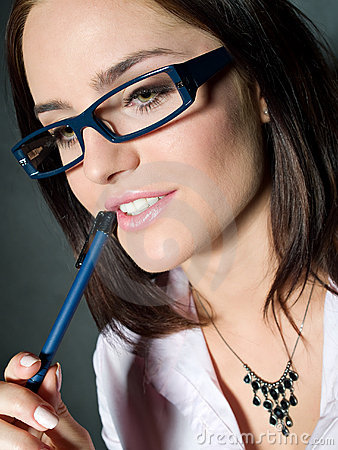 Free Woman In Glasses Stock Photo - 17419490