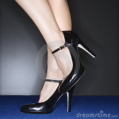 Free Woman In High Heels. Stock Photography - 3469502