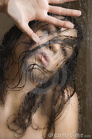 Free Woman In Shower. Stock Photography - 2424862