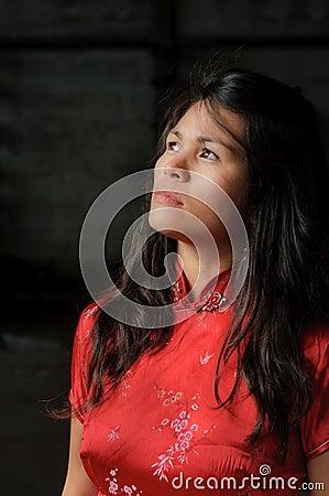 Free Woman In Sorrow Royalty Free Stock Photos - 16206218
