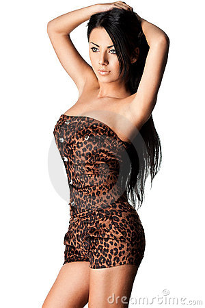 Free Woman In Tigrine Wear Royalty Free Stock Photography - 22347957