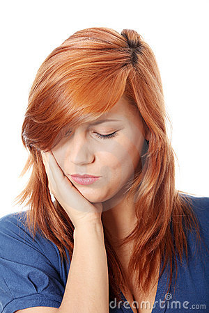 Free Woman Is Having Toothache Stock Photo - 18070620