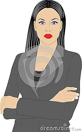 Woman in jacket