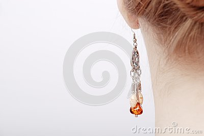 Woman with jeweller