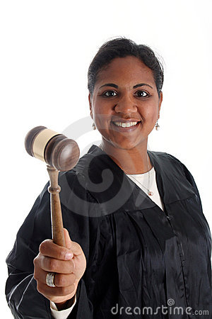 Woman Judge
