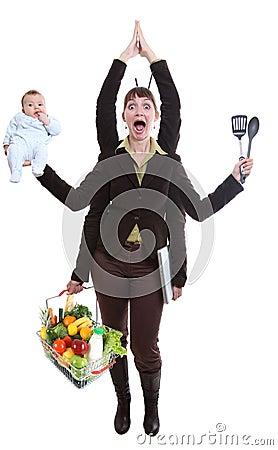 Free Woman Juggling Fruit Royalty Free Stock Images - 12350539