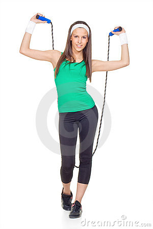 Woman With Jump Rope