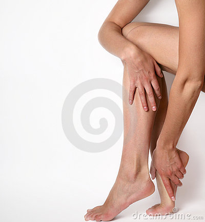 Free Woman Legs Royalty Free Stock Images - 5660969