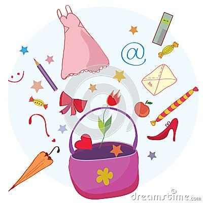 Woman lifestyle bag