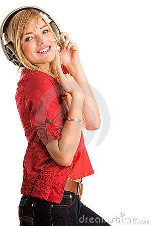 Free Woman Listening To Music Royalty Free Stock Photography - 11680107