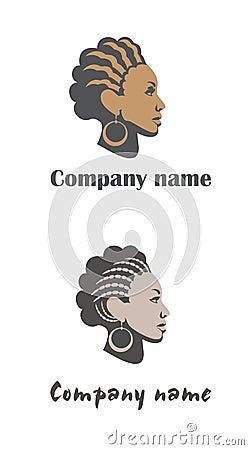 Woman logo for hair or beauty salon