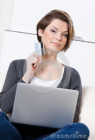 Woman makes bargains