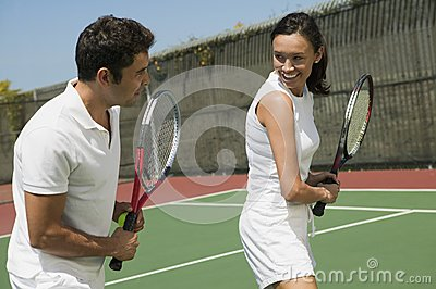Tennis Instructor Royalty Free Stock Images - Image: 17392319
