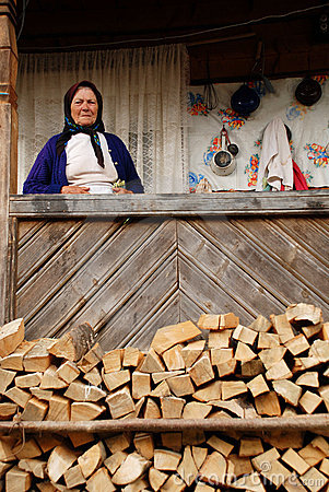Woman from Maramures Editorial Photography