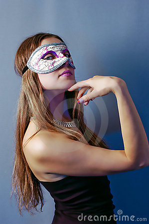Woman in mask 3