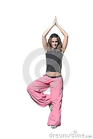 Woman in meditation