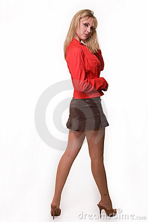 Women In Mini Skirts