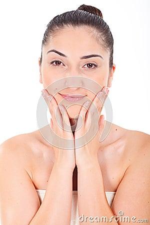Porn faces clean soft