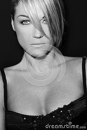 Woman Model Italian Style