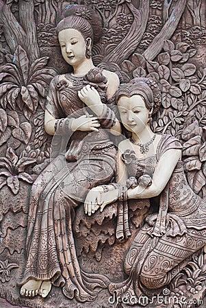 Free Woman Molding Art Royalty Free Stock Photo - 36715595