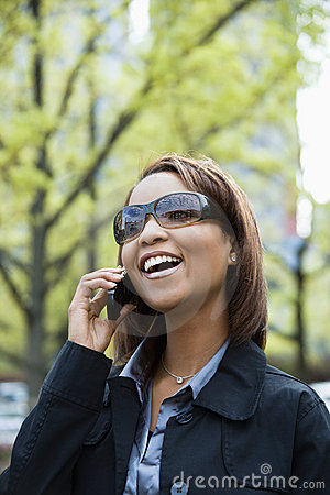 Free Woman On Cellphone Stock Photos - 4997163