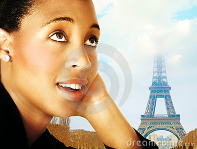 Woman and Paris