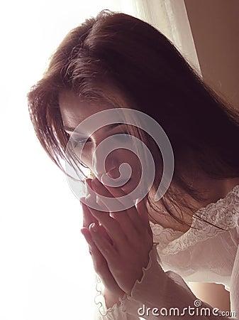 Free Woman Praying Royalty Free Stock Photography - 3307