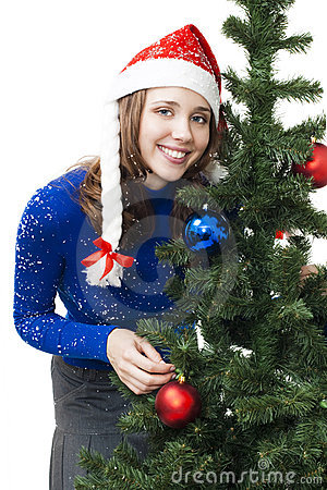 Woman prepare for new year