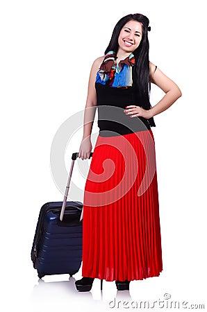 Woman preparing